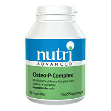 Osteo-P-Complex - 120 Capsules by Nutri Advanced - Complex for Bone Support