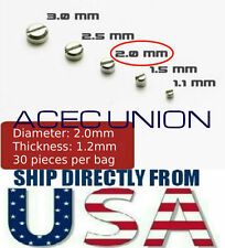 Metal Armor Detail Up Φ 2.0 mm Screws Parts For MG HG Gundam - U.S.A. SELLER