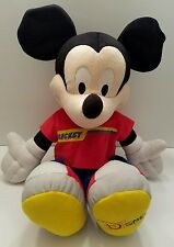Disney Mickey Mouse Stuffed Plush Doll Clubhouse Mousekateer 2002 Disney World