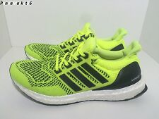 Adidas Ultra Boost 1.0 Men Running Shoes Primeknit Solar Yellow S77414 US9.5 NEW