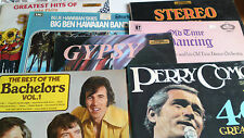 Vinyl LP Record collection all in sleeves. Job lot.