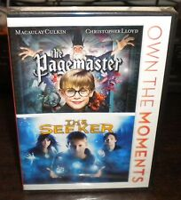 New Sealed 2 Feature Film: The Pagemaster/ The Seeker (DVD. 2012)a