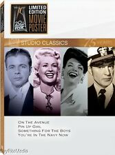 Studio Classics: Set 13 (DVD, 2010, 4-Disc Set, Fox 75th Anniversary)