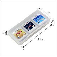 Clear 6 in 1 Game Card Cases Cover Box for 3DS DS DS Lite DSi XL LL NDS Box
