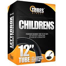 """Inner Tube 12"""" 12 1/2"""" x 1.75 - 2.25 (47 - 203) Bent Valve - RRP £9.99 [S1-1]"""