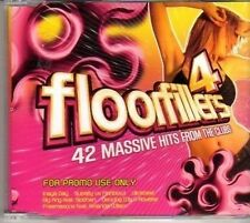 (CK87) Floorfillers 4, album sampler, 12 tracks - 2005 DJ CD