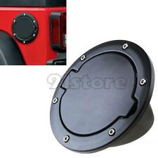 Auto ABS Fuel Filler Cover Gas Tank Cap 2/4 Door For 07-15 Jeep Wrangler JK SR1G