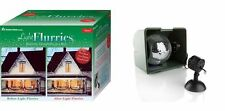 The Light Flurries Snow Show Christmas House Lighting Outdoor Decoration NEW NIB