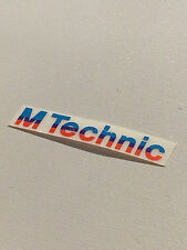 M Technic Adhesive Sticker Genuine Brand New BMW E30 E28 E24 - body kits spoiler