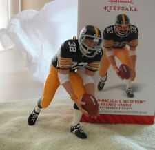 Franco Harris - Steelers Immaculate Reception Hallmark Keepsake Ornament 2014