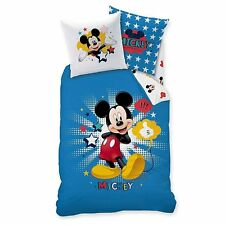 LINON KINDER BETTWÄSCHE 135/200 + 80/80 MICKEY MOUSE STAR NEU/OVP - MINNIE MAUS