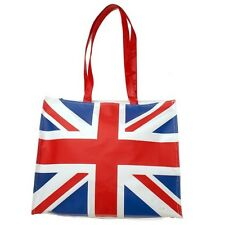 """New Union Jack British Over the Shoulder Fabric Aarm Tote Bag Large 15""""x15"""" #309"""