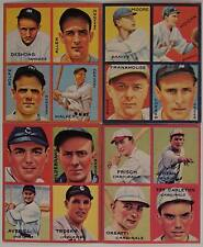 1935 GOUDEY BASEBALL CARD  REPRINT SET