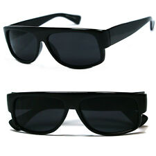 Classic Old School Eazy E Flat GANGSTER CHOLO Sunglasses Super Dark