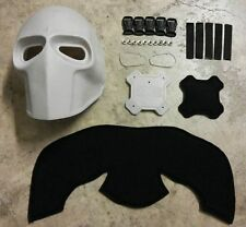 Army of Two Paintball Airsoft BB Gun Plain Mask Costume Cosplay
