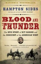like new BLOOD AND THUNDER-STORY OF KIT CARSON/AMERICAN WEST PAPERBACK BOOK