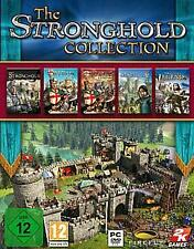 STRONGHOLD COLLECTION 5 VOLLVERSIONEN 1 PREIS TopZustand