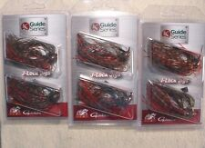 3 PACKS Jewel Guide Series J-Lock 1/2 oz Multi BASS JIGS Gamakatsu Watermeln Red