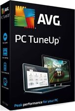 AVG PC TuneUp 2016, 3 PC Users, 1 Year Retail License - Latest Version.