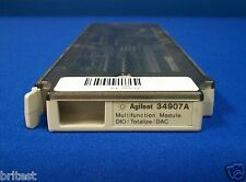 Agilent 34907A Multifunction Module for 34970A/34972A DIO/Totalize/DAC