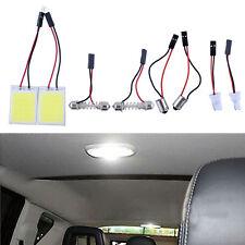 2Pcs HID 24COB LED Panel Light For Car Interior Door Trunk Map Dome Light White
