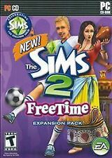 The Sims 2 Freetime PC Game 2008 Complete With Key Expansion Free Time