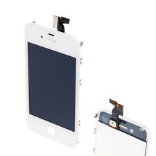 HK White Replacement LCD Touch Screen Digitizer Glass Assembly for iPhone 4 GSM
