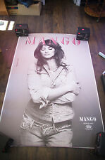 MANGO PENELOPE CRUZ Huge Giant 4x6 ft D/S French Advertising Poster 2014