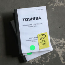 Toshiba Programmable Controller Prosec T1/T1S User Manual