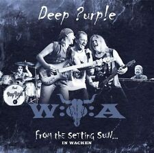DEEP PURPLE From The Setting Sun In Wacken 2CD BRAND NEW Live 2013