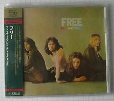 FREE - Fire And Water + 6 BONUS JAPAN SHM CD OBI RAR! UICY-90763 BAD COMPANY
