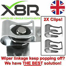 FOR MGF MG ZR ZS TF ZT WINDSCREEN WIPER MOTOR LINKAGE LINK REPAIR CLIP KIT