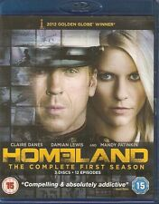 HOMELAND - Series 1. Damian Lewis, Claire Danes (3xDISC BLU-RAY SLIM BOX SET 12)