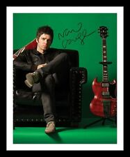NOEL GALLAGHER AUTOGRAPHED SIGNED & FRAMED PP POSTER PHOTO 1