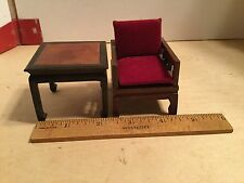 Chinese style furniture,in 1:12 scale,VGC,chair&table