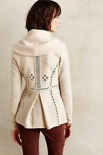 NWT $168 Anthropologie Angel Of The North Soutache Trim Jacket size XS Gorgeous