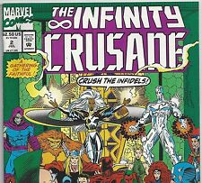 The Infinity Crusade #2 Thanos, Gomora, Avengers, X-Men from July 1993 in VF- DM