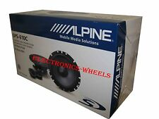 "BRAND NEW ALPINE SPS-610C TYPE S 6 3/4"" 240W COMPONENT SPEAKERS"