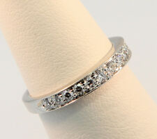 Tiffany & Co. 2.75mm Bead-Set Diamond Band Ring Sz 4.0 $3,049 after Tax w Paper