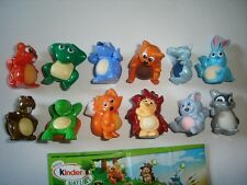 KINDER SURPRISE SET - NATOONS CUTE FOREST ANIMALS 2010 - FIGURES COLLECTIBLES