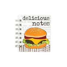 Delicious Notes Scrapbook Mini pocket notebook Small Handbag Journal pad New