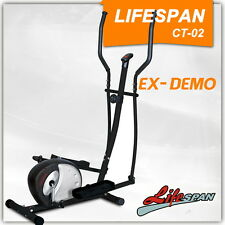 Elliptical Cross Trainer Exercise Bike Bicycle GYM FITNESS LifespanCT-02 DEMO