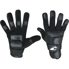 HILLBILLY FULL FINGER WRIST GUARD GLOVES BLACK LARGE