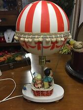 Dolly Toy Co. Hot Air Balloon vintage night light desk lamp children's