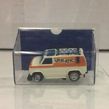 Van - Atic Slot Less Car 1977 Ideal TCR Made In Hong Kong. W/case