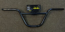 GT Interceptor Handlebars Bars for BMX Old Mid School Bike 7.5 in rise Black