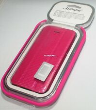 Premium Flip Leather Case With Front Back Screen Protector For Apple iPhone 5