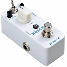 Mooer Reecho Analog Delay Real Echo Tape Compact True Bypass Guitar Effect Pedal