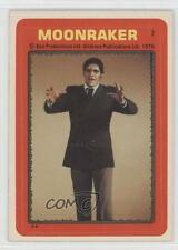 1979 Topps James Bond: Moonraker Stickers #7 Jaws Non-Sports Card 1m8