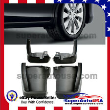 FOR 13-16 HONDA ACCORD MUD FLAP SPLASH GUARD MUDGUARD FENDER PROTECTOR 4PCS KIT